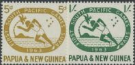 Papua New Guinea SG49-50 First South Pacific Games, Suva set of 2
